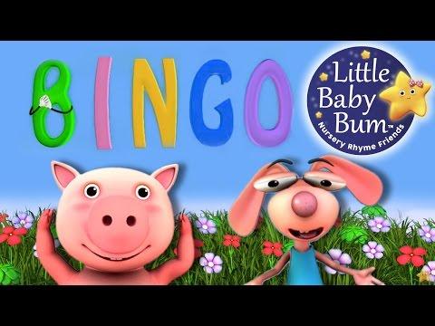 BINGO | Nursery Rhymes | from LittleBabyBum! | ABCs and 123s