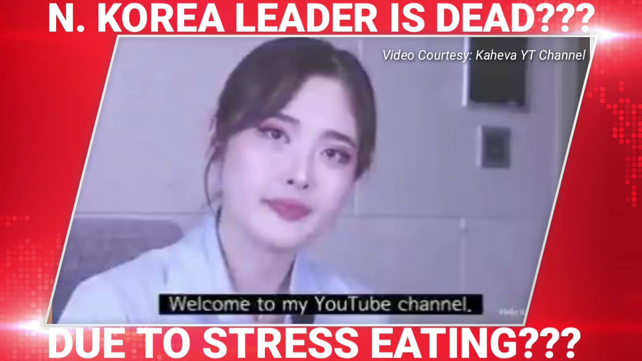 #KIMJONGUNDEAD due to STRESS EATING?