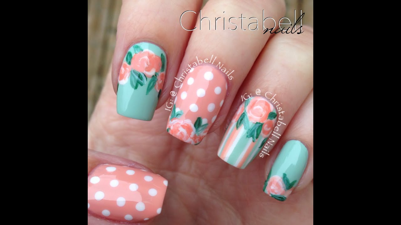 Vintage Nails: ChristabellNails Vintage Nails Tutorial