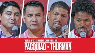 * FIGHT PREDICTION * - Pacquiao vs.Thurman | Erik Morales, Winky Wright, Barrera & Shawn Porter