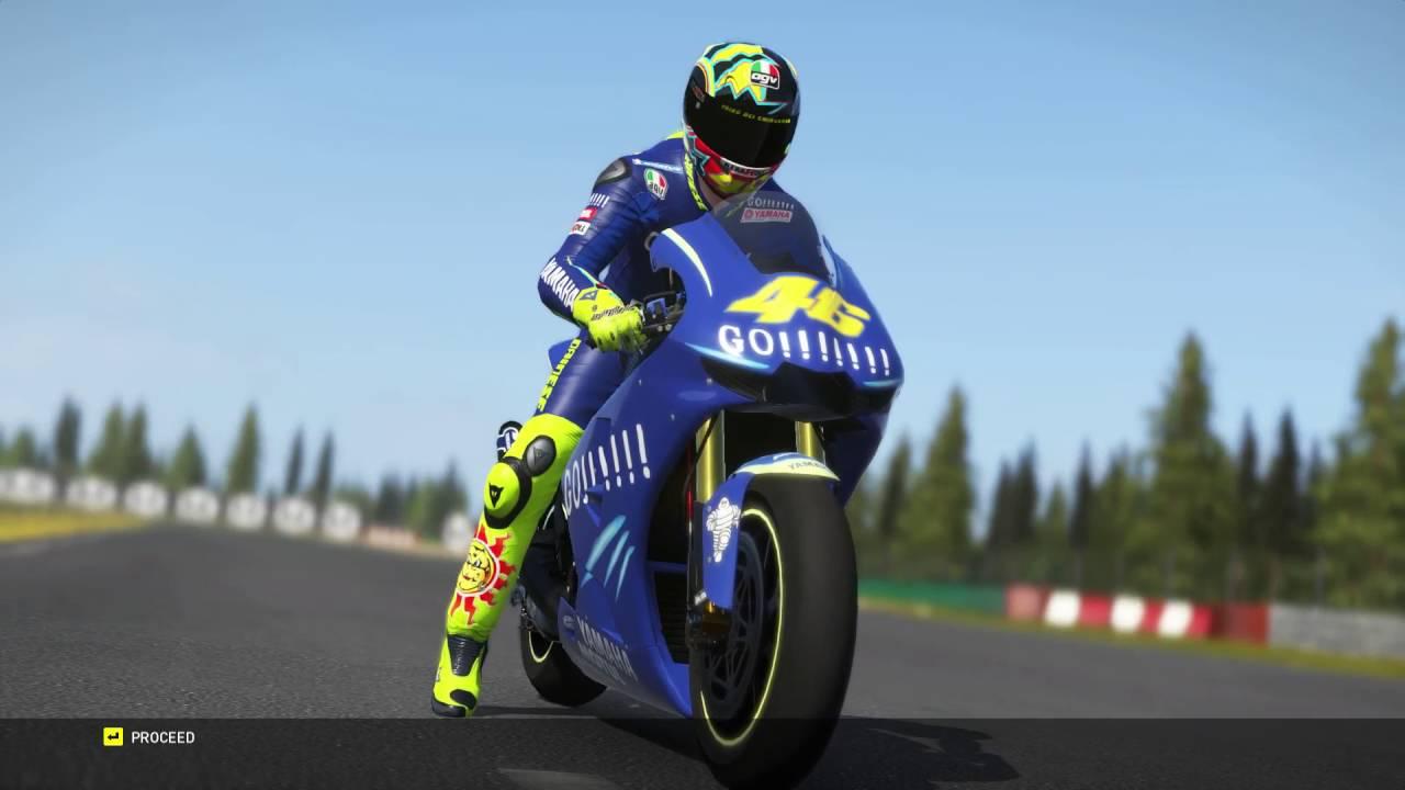 Valentino Rossi The Game Motogp 4 Stroke 2004 Brno Youtube