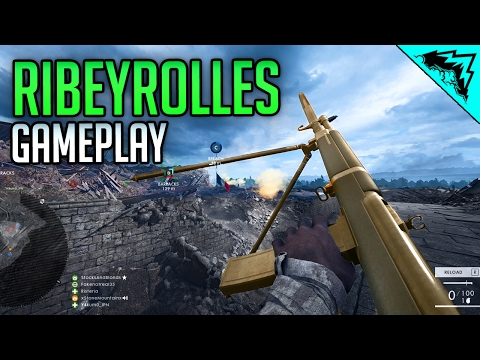 NEW BIPOD SMG - Ribeyrolles 1918 Factory Battlefield 1 Multi