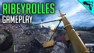 NEW BIPOD SMG - Ribeyrolles 1918 Factory Battlefield 1 Multiplayer Gameplay Fort de Vaux