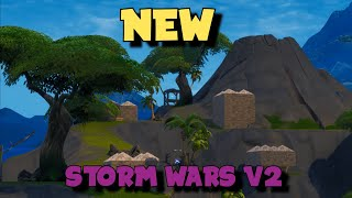 NEW Storm Wars V2 Creative Map (ISLAND CODE IN DESCRIPTION)