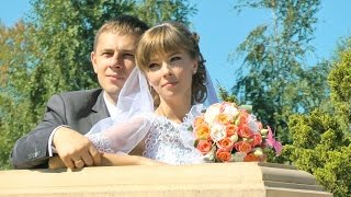 Прогулка в парке Межигорье. Клип из свадебного фильма. Классический стиль свадебного видео.