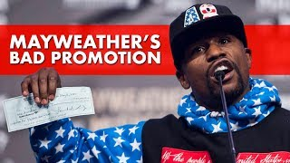 Mayweather's Frustrating Promotion Ahead of The McGregor Fight
