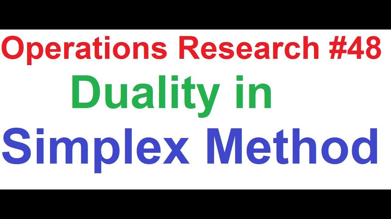 Duality (optimization)