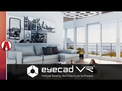 Eyecad VR - New Realtime Render & Virtual Reality Software