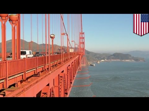 Suicide prevention: Golden Gate Bridge begins construction for safety net