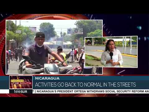 Nicaragua Protests Simmer As Ortega Drops Reforms