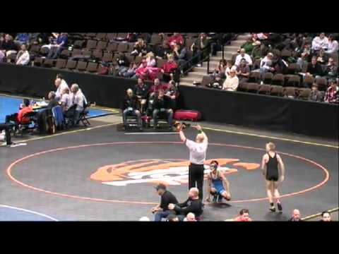 2012 CHSAA Wrestling Session 5 Mat 5