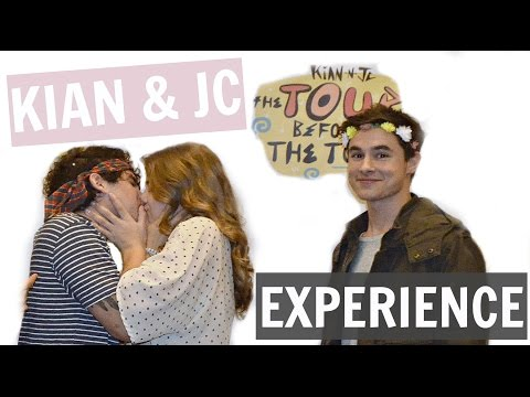 KISSING JC CAYLEN!? // MEETING KIAN & JC TOUR BEFORE THE TOUR EXPERIENCE
