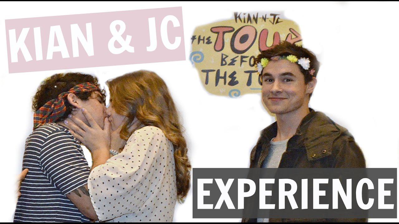 Kissing Jc Caylen Meeting Kian Jc Tour Before The Tour