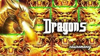 👍BIG WIN!!! - 🐉SCREAM DRAGONS!🐉 - MAX BET! - LIVE - Slot Machine Bonus