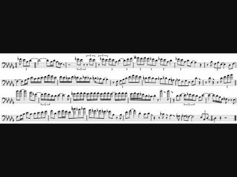 Mark Nightingale 'On The Side' Trombone Solo Transcription