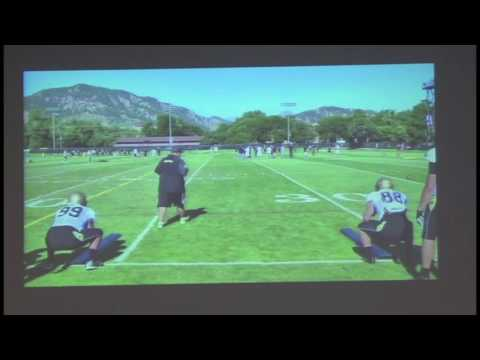 LWG Coaches Clinic - Klayton Adams, Colorado Offensive Line Coach