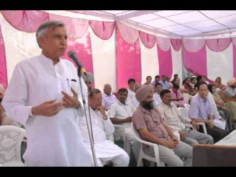Chandigarh Mp, Pawan Kumar Bansal At Sector 39 Sports Meet.
