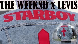 The Weeknd's STARBOY Levi's Denim Jacket Review + On Body