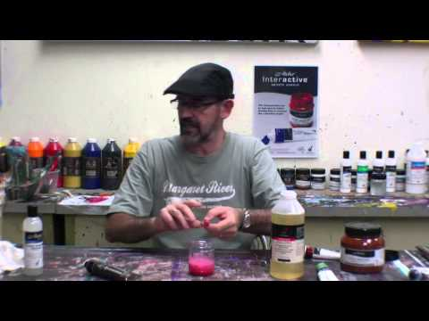 How to Clean Artist Paint Brushes the easy way. clean dry paint from brushes