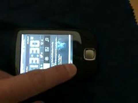 HTC Touch Screen Smudge