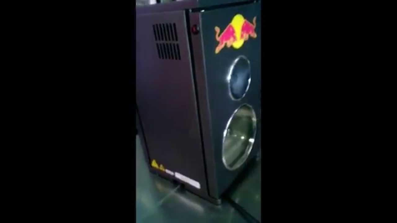 Red Bull Dj Mini Fridge Cooler Refrigerator New W