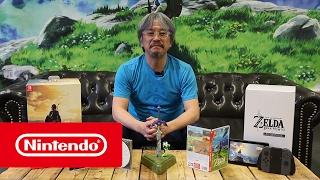 Édition limitée de The Legend of Zelda: Breath of the Wild - Déballage par Eiji Aonuma