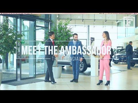 Meet The Ambassador Of Japan To Georgia