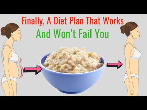 how-to-lose-weight-on-the-oatmeal-diet-–-oats-recipe-for-weight-loss,-healthy-diet