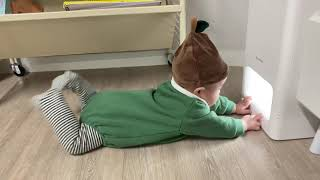 [5개월아기] 공기청정기 매력에 빠진다아...⭐️ 공청…