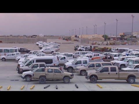 میدان هوایی بگرام - Foreign forces withdrew from Bagram
