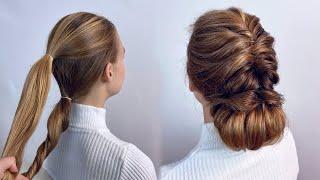 Прическа на длинные волосы Прически на вьющиеся волосы