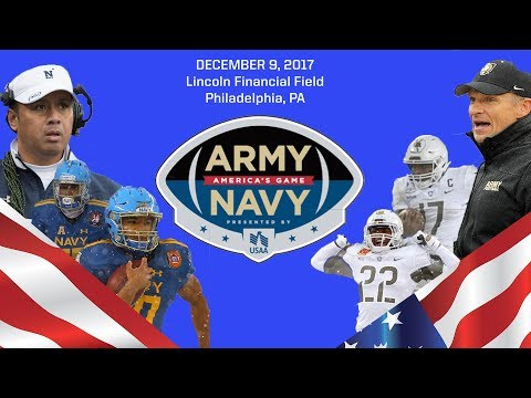 Sights and Sounds: 2017 Army-Navy Game