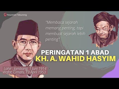 1 Abad KH. A. Wahid Hasyim Tebuireng
