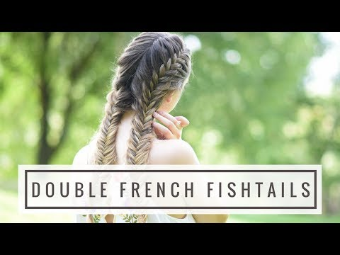 Double French Fishtails | Braids By Jordan