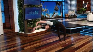 Andrew Garfield Backflips for Charity