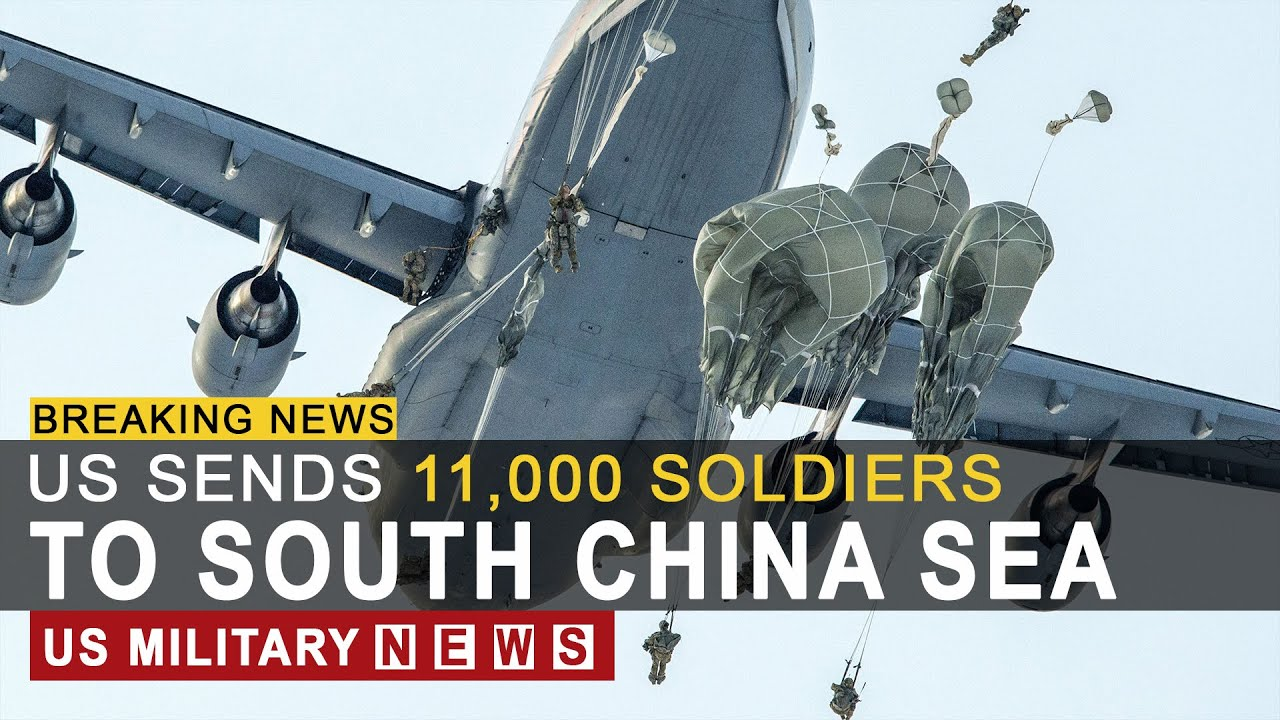 BREAKING NEWS (September 19, 2020) US Sends 11,000 Soldiers to South China Sea