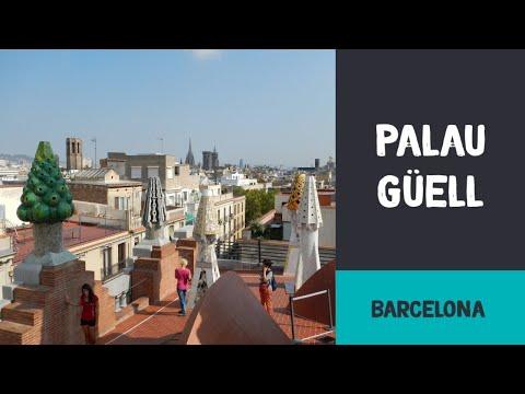 El Palau Güell en Barcelona  - The Guell Palace in Barcelona