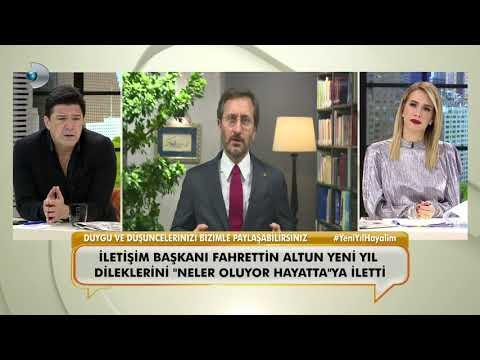 Cumhurbaşkanlığı İletişim Başkanı Fahrettin Altun'un yeni yıl mesajı