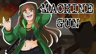 KIRA - MACHINE GUN - (Vocal Cover w/Animation)