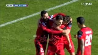 Video Gol Pertandingan Deportivo La Coruna vs Sevilla