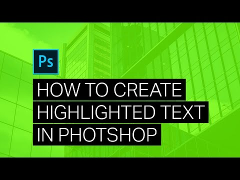 Create ATTENTION-GRABBING Highlighted Text - Photoshop Tutorial
