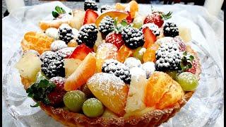Torta De Frutas – Simples E Fácil De Fazer