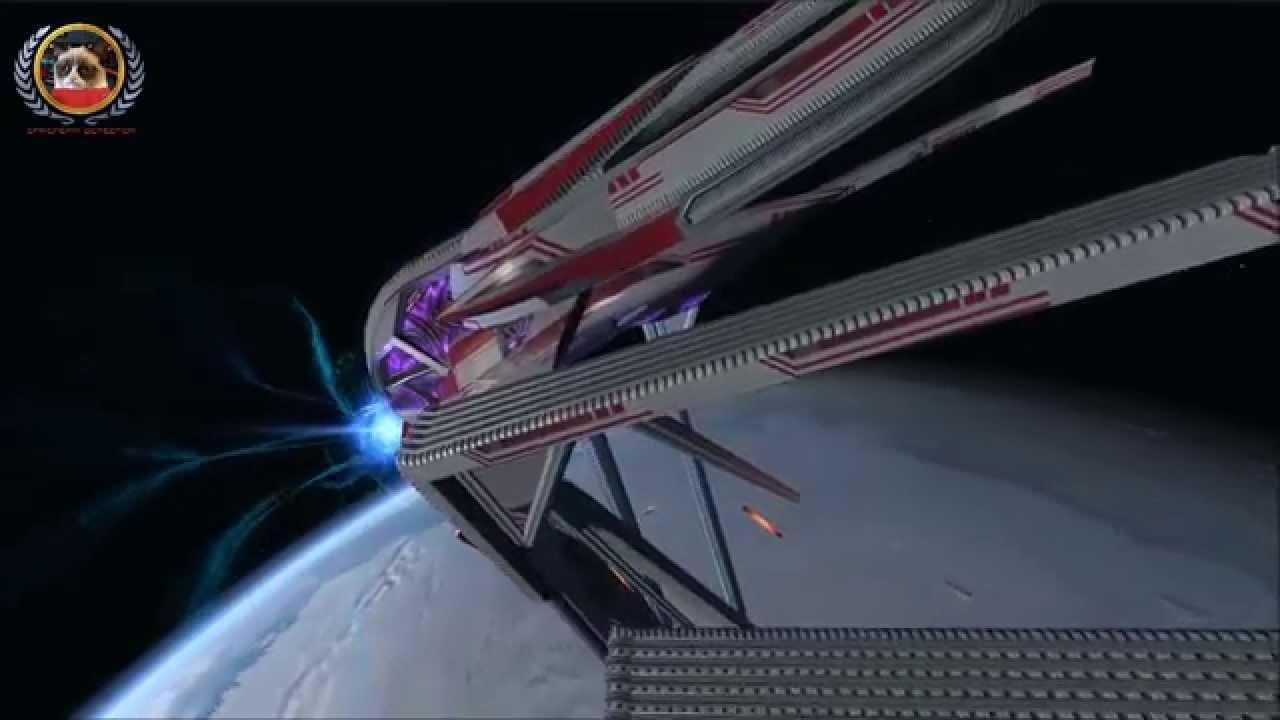 Star Trek Online Shaking Down The Herald Vonph Dreadnought Carrier
