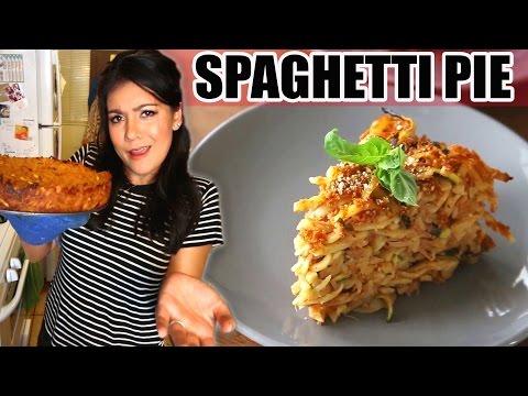 SPAGHETTI PIE?!?! MAMA MIA! (Thug Kitchen Recipe) - #TastyTuesday