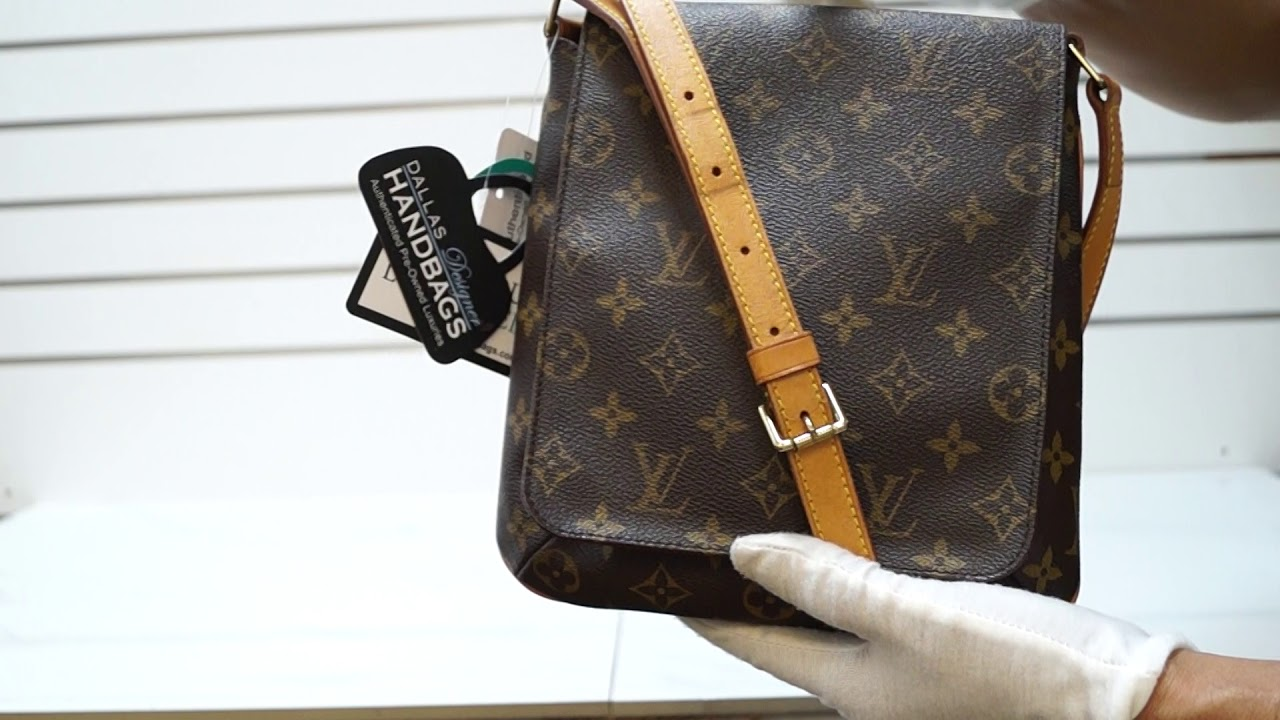 41957e4e3d23b LOUIS VUITTON Musette Salsa Monogram Canvas Short Strap Shoulder Bag TT2842