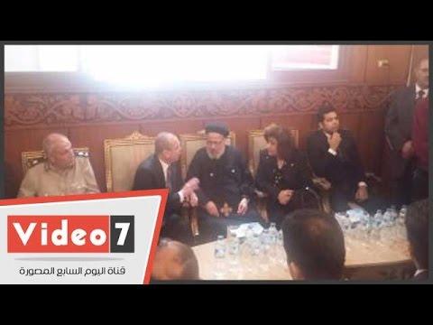 محافظ دمياط: الكنيسة جزء من مصر ونحن أول من ندافع عنها