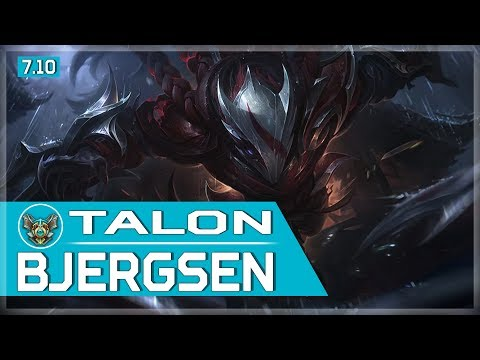 475. Bjergsen vs LL Stylish - Talon vs Zed - Mid - May 27th, 2017 - Patch 7.10 Season 7