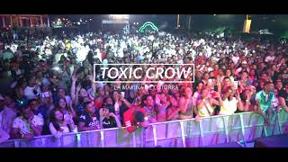 Toxic Crow cantando su nuevo tema #chapachapa en vivo