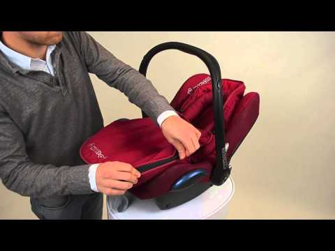 maxi cosi how to install the footmuff cabriofix baby car. Black Bedroom Furniture Sets. Home Design Ideas