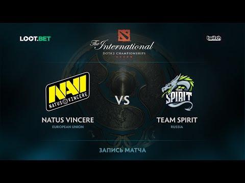 Natus Vincere vs Team Spirit, The International 2017 CIS Qualifier